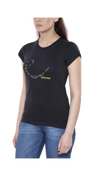 Edelrid Signature Shortsleeve Shirt Women black